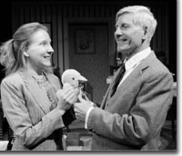 Photo of Jenny MacDonald as Cecily and Frederic J. Lewis as Frank