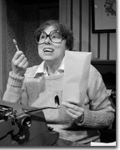 Photo of Sally Diamond as Helene Hanff