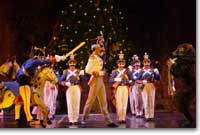 Photo of the Nutcracker Prince rallying his troops against the Mouse King
