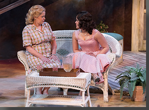 (Left to right) Kate Gleason as Sue and Regina Fernandez as Ann
