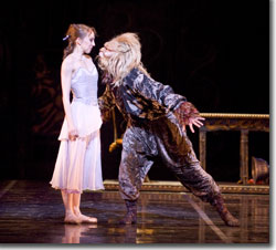 Dana Benton as Beauty and Dmitry Trubchanov as The Beast