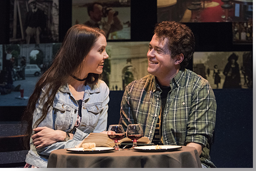 Kate Parkin as Caithleen and Peter Bussian as Robbie