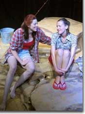 Photo of Denise Perry-Olson as Lil and Trina O'Neill as Eva