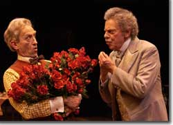 Photo of Randy Moore as Benoit and Philip Pleasants as Alexandre Dumas