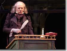 Photo of Philip Pleasants as Ebenezer Scrooge