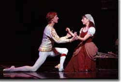 Photo of Chauncey Parsons as Prince Charming and Maya Makhateli as Cinderella