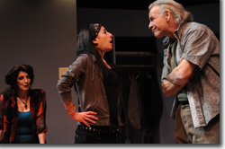 Erica Sarzin-Borrillo as Marty, Meredith Young as Lauren, and Bob Buckley as James