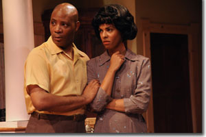 Chris Davenport as Albert and ZZ Moor as Francine