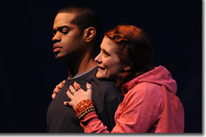 Laurence Curry as David and Jessica Austgen as Susan