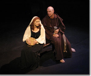 Julie Rada as Isabel Marquez and Ami Dayan as Andres Gonzalez