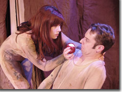Heather Schroeder as Eve and Jason Maxwell as Adam