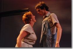 Dee Covington as Ella and John Jurcheck as Wesley