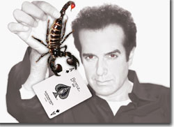 David Copperfield and friend