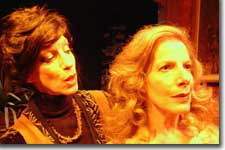 Photo of Erica Sarzin-Borrillo as Agnes and Deborah Persoff as Claire