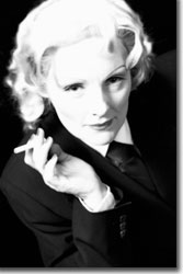 Mari Carlin Dart as Marlene Dietrich