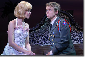 Laura E. Taylor as Christine and Ben Nordstrom as Freddy
