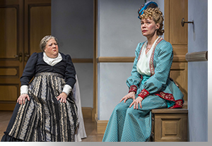 Leslie O'Carroll as Anne-Marie and Barbra Wengerd as Nora