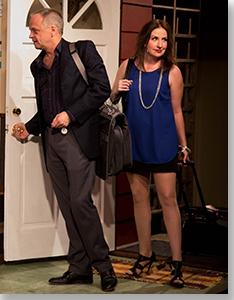 Andrew Uhlenhopp as Chase and Missy Moore as Kai