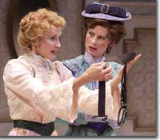 Photo of Kathleen McCall as Raymonde and Angela Pierce as Lucienne