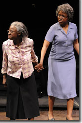 (Left to right) Daphne Gaines as Nella Pettway and Nikki E. Walker as Sadie Pettway