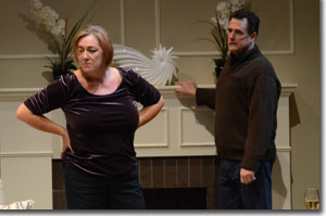 Dee Covington as Margie and Michael McNeill as Mike