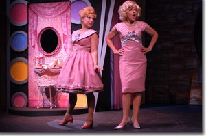 (Left to right) Heather Doris as Amber and Kirsti Carnahan as Velma