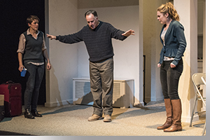 (Left to right) Susannah McLeod as Aimee, Kevin Hart as Erik, and Anastasia Davidson as Brigid
