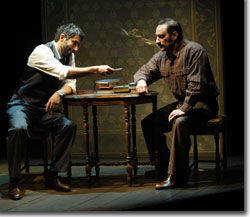 (Left to right) Piter Marek as Darius Shalid and Laith Nakli as Abdel-Hakim Taliq