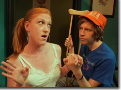 Kirsten Deane as Madeleine and Royce Wood as Michael