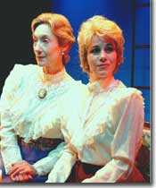 Photo of Lori Hansen as Florence and Theresa Reid as Viola