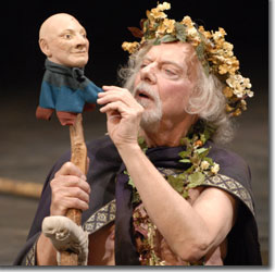 Philip Pleasants as King Lear