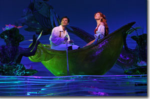 Sean Palmer as Prince Eric and Sierra Boggess as Ariel