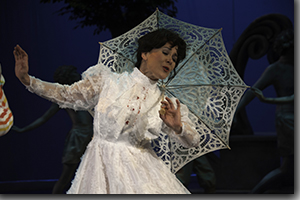 Tracy Warren as Mary Poppins