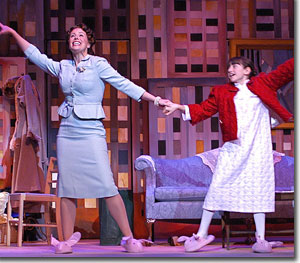 (Left to right) Lauren Shealy as Doris Walker and Regan Fenske as Susan Walker