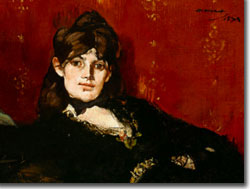 Morisot Reclining by Edouard Manet