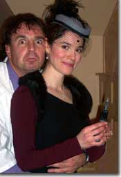 Photo of Mark Corrigan as Professor Prune and Katharyn Grant as Ms. Finch