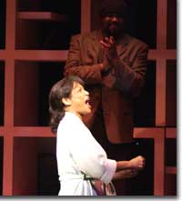 Photo of Eloise Laws as Mother and Gregory Porter as Gregory