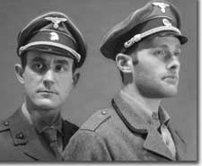 Photo of (L to R) John Kissingford as Siegfried Sassoon and Benjamin Summers as Wilfred Owen