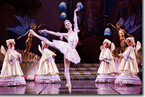 Chandra Kuykendall as the Sugar Plum Fairy