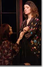 Photo of Denise Perry-Olson (Anna) and Mare Trevathan Philpott (Kate)