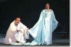 Hao Jiang Tian as Li Bai and Ying Huang as Moon