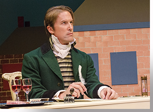 Zachary Andrews as Mr. Darcy
