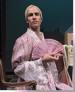Brian Kusic as Miss Bingley