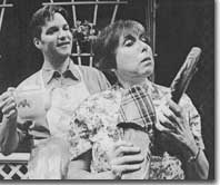 Photo of Jim Miller as Greg and Sallie Diamond as Sheila