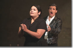 Christina Martos as Annina and Derek Taylor as Michele