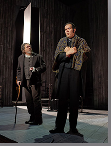(Left to right) Malcolm MacKenzie as Roger Chillingworth and Dominico Armstrong as Arthur Dimmesdale