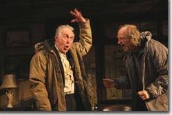 (L-R) Sean G. Griffin as Richard and Russell Hodgkinson as Ivan