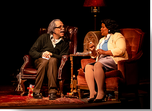 Jordan Leigh as Albert Einstein and Mary Louise Lee as Marian Anderson