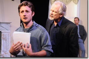 (Left to right) Sean Scrutchins as Martin and John C. Ashton as Leonard