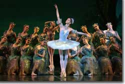 Photo of Maria Mosina as Princess Aurora, the Sleeping Beauty